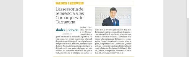 DS Diari de Tarragona 2019